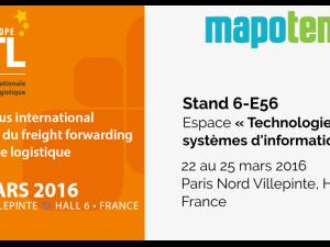 Mapotempo présent au SITL 2016 stand 6-E56 – 22 au 25 mars