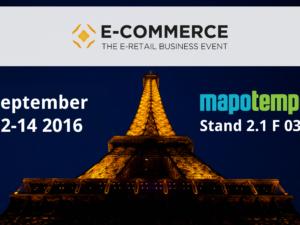 Mapotempo at Paris Retail Week : e-logistics area