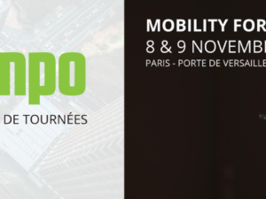 Mapotempo au salon Mobility for Business les 8 et 9 novembre 2016, stand A28