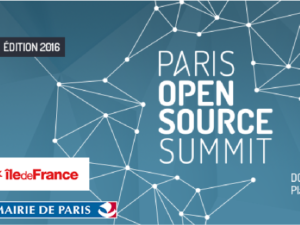 Mapotempo au salon Paris Open Source Summit les 16 & 17 novembre 2016, stand B18-C21