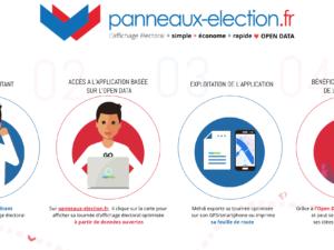 OpenData et usage concret : la seconde édition de panneaux-élection.fr