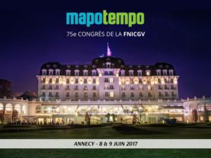 Mapotempo participe au 75e congrès de la FNICGV