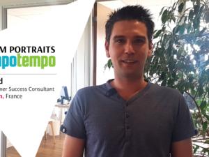 Team Mapotempo: David's portrait, Customer Success Consultant