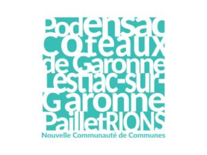 CDC de Podensac, des Coteaux de Garonne, de Lestiac-sur-Garonne, de Paillet et Rions