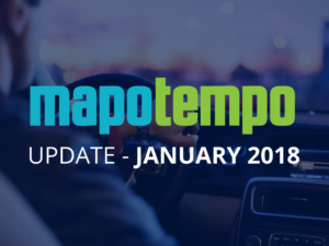 January 2018, discover what's new in the latest Mapotempo Web update